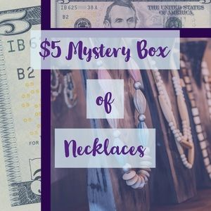 $5 Mystery Jewelry Box! Necklaces